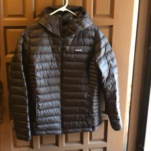 Patagonia Down sweater Coat with Hood